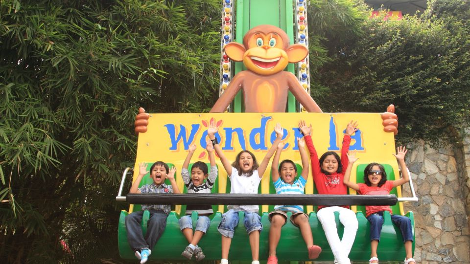 Kids Rides - Funky Monkey at  Wonderla Amusement Park Bengaluru
