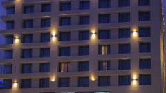 Entrance at efcee sarovar portico hotels in bhavnagar 9967