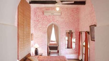Neemrana Fort Palace Neemrana Jharokha Mahal Hotel Neemrana Fort Palace Neemrana Rajasthan