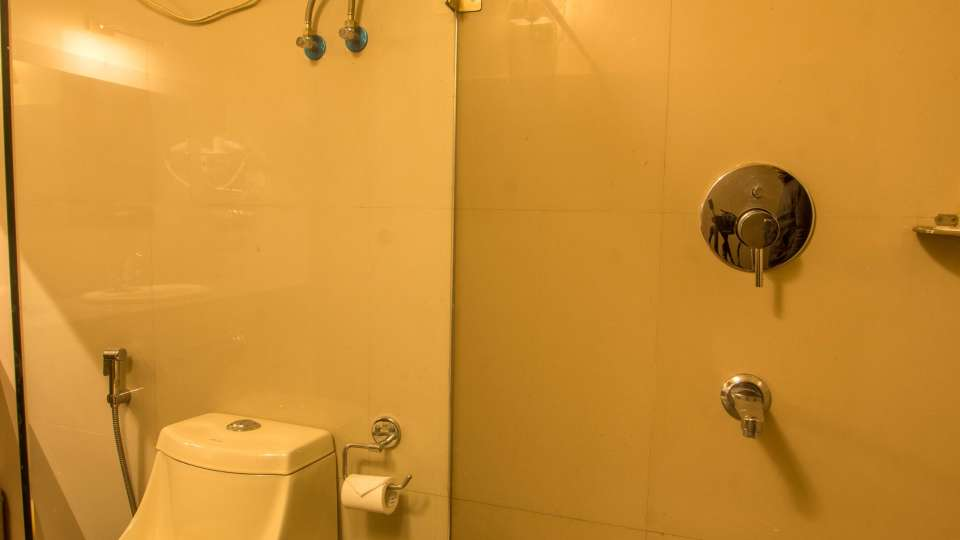 bathroom at Mount Himalayan Hotel and spa 3
