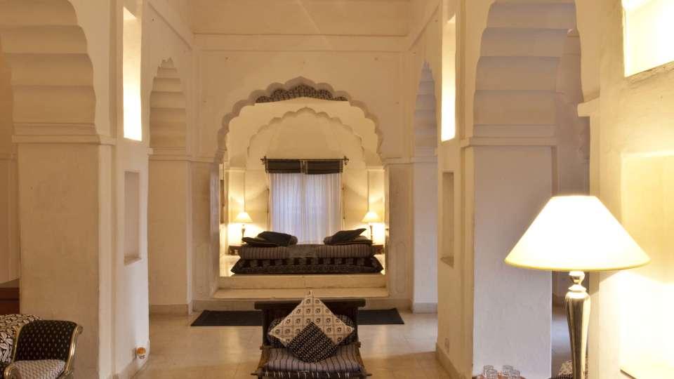 Neemrana Fort Palace Neemrana Chandra Mahal Hotel Neemrana Fort Palace Neemrana Rajasthan 4