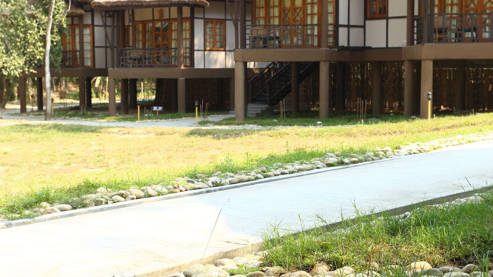 Exterior View of the Cottage at Infinity Resorts Kaziranga, Rooms in Kaziranga 1