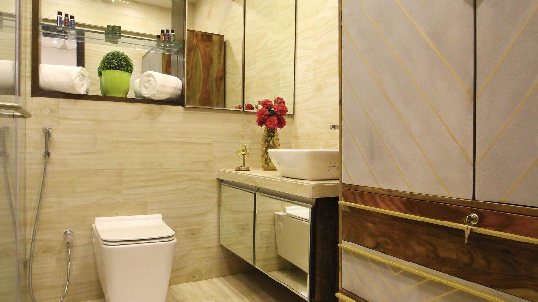 5 Bathroom 1, Serviced Apartments in Khar, Rooms in Khar, Hotels in Khar