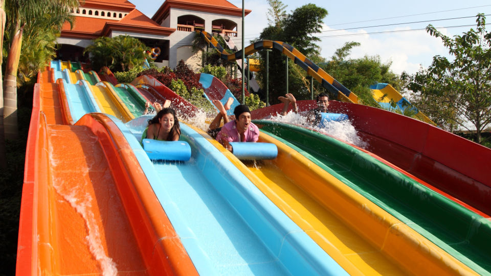 Water Rides -  Fun Racer at Wonderla Amusement Park Bangalore