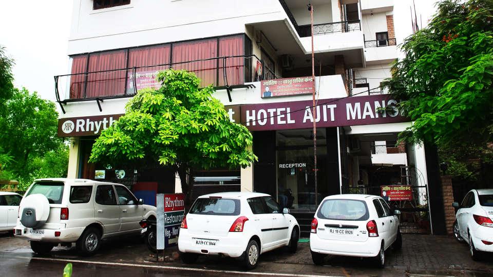 Ajit Mansion Jodhpur Facade Hotel Ajit Mansion Jodhpur 1