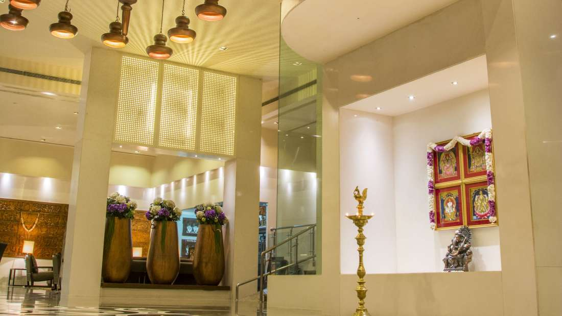 Hotel Bliss Luxury Hotel in Tirupati Online Booking reception 1