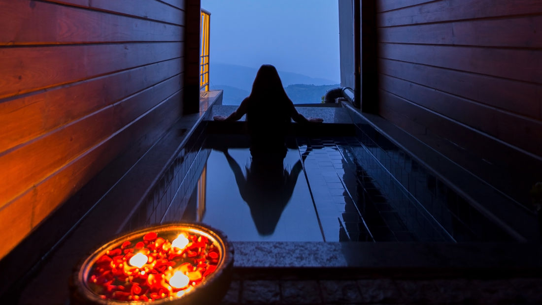 Private plunge pool at our resort in Cherrapunji, Spacious rooms in Cherrapunji-29, Polo Orchid Resort, Cherrapunji- 35