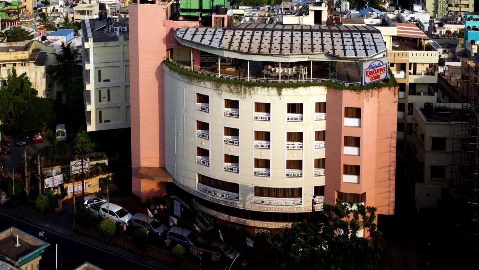 Facade of Hotel Daspalla Executive Court Vishakapatnam