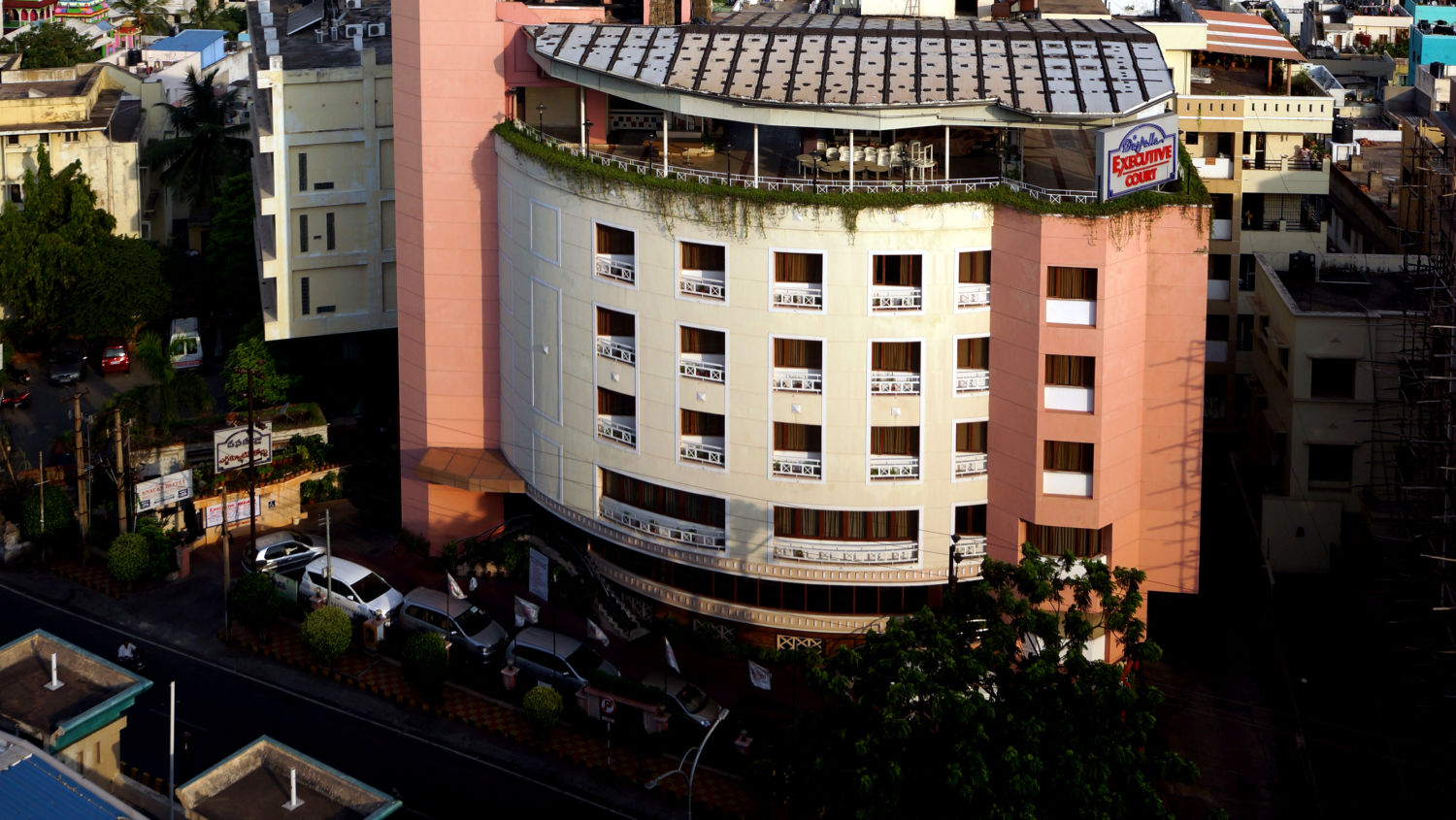 Facade of Hotel Daspalla Executive Court Vishakapatnam