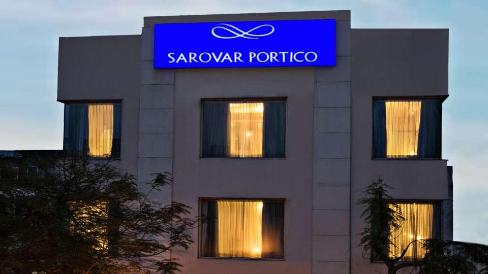 Facade at Lobby at Sarovar Portico Naraina