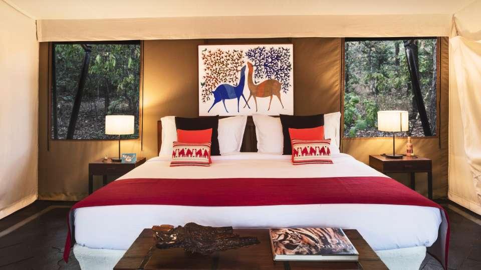 Luxury Tents at Satpura National Park- Reni Pani Jungle Lodge in Madhya Pradesh 4srgs