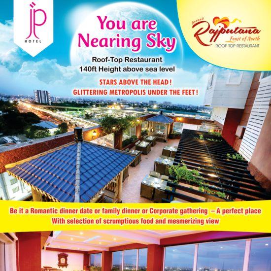 JP Hotel in Chennai Rajputana Sky View