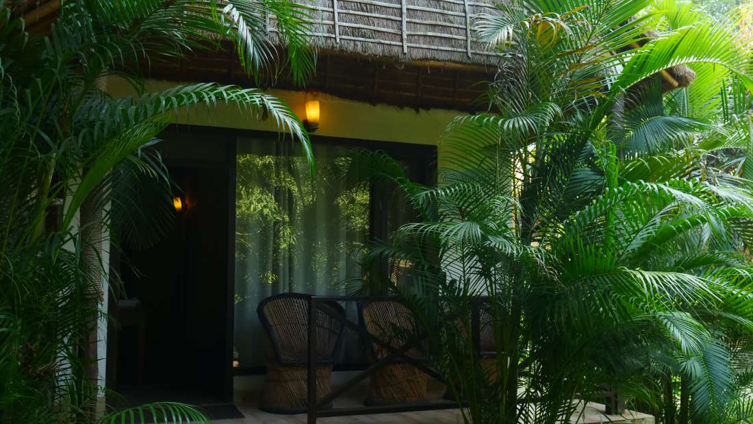 Jungle Cat Deluxe Cottage at Corbett Wild Iris Spa Resort 4