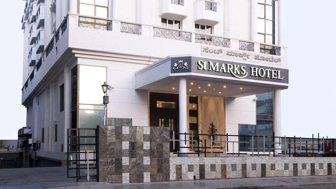Facade 3, St Marks Hotel, Bangalore Hotel