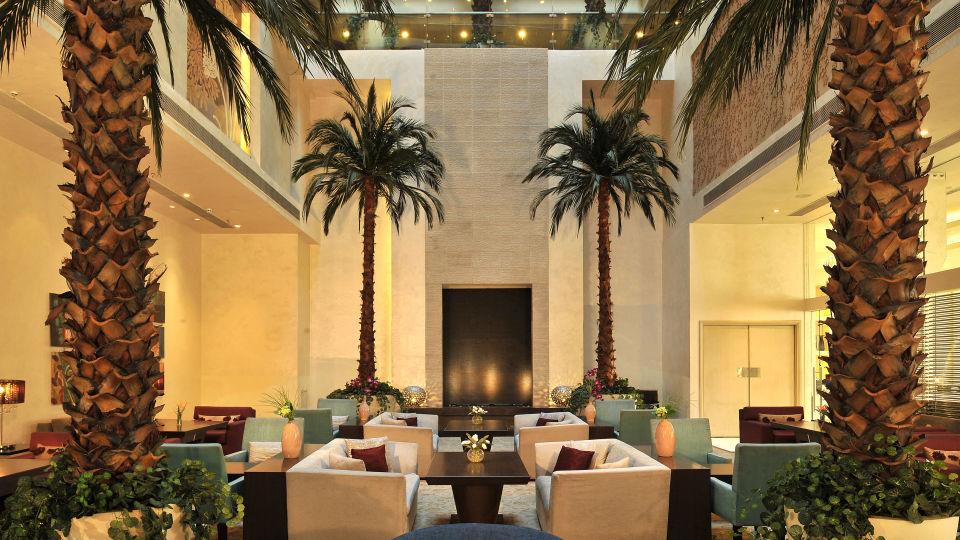 Lounge at Hotel Park Plaza, Faridabad - A Carlson Brand Managed by Sarovar Hotels, Hotels in Faridabad