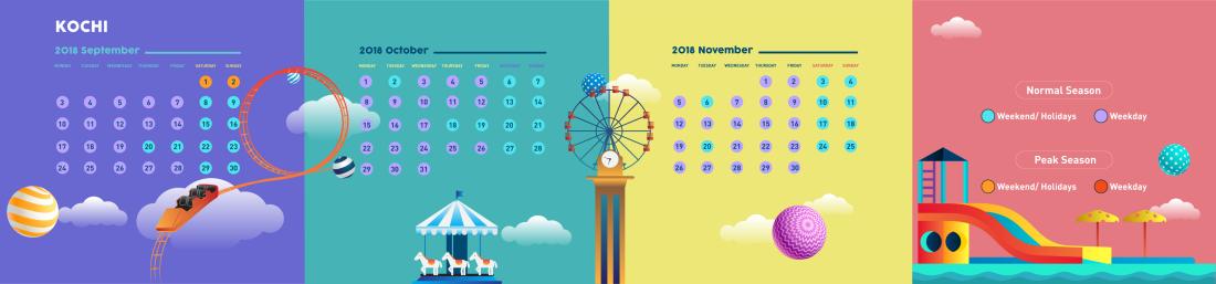 Calendar- 2018 Kochi