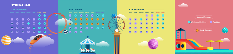 Calendar- 2018 Hyderabad
