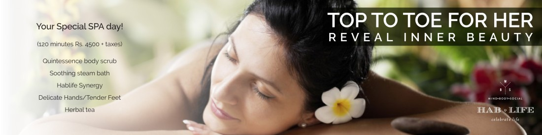 Hablis Hotel Chennai Chennai Top To Toe For Her Spa Package Hablis Chennai