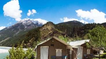 Yamunotri, Gangotri, Kedarnath & Badrinath uttarakhand Riverside tents