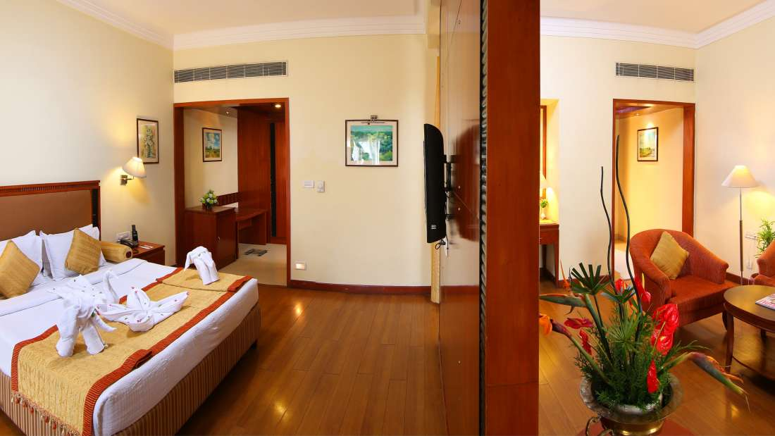 Suite with Living Room Hotel Royal Court Madurai 2