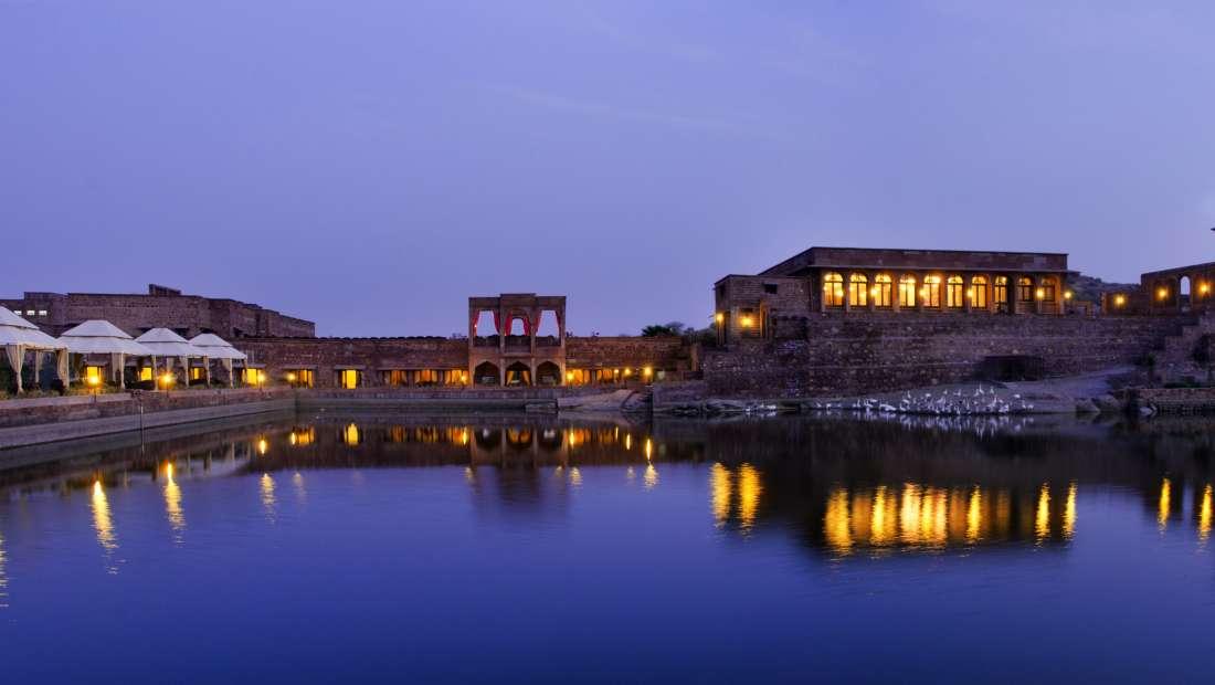 Facade at Bijolai Palace Hotel Jodhpur- Jodhpur hotel 1