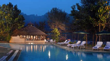 The River View Retreat - Corbett Resort Corbett river view retreat resort in jim corbett national park by leisure hotels