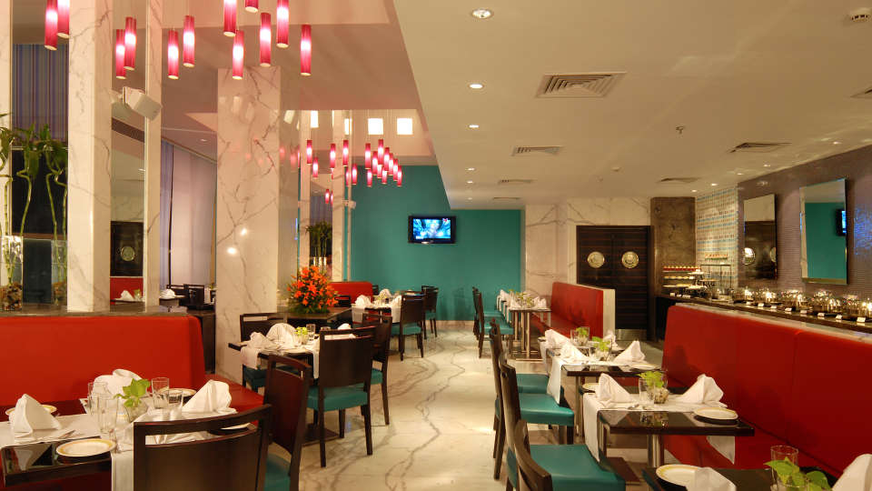 Flavours restaurant at Grand Hometel Mumbai, best hotels in mumbai