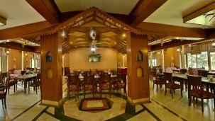 Restaurant at Hotel Vasundhara Palace Rishikesh 4