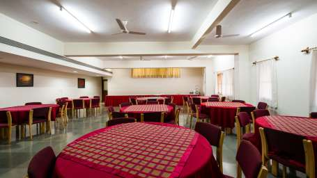 Saiacs CEO center  Hotel SAIACS CEO Centre Bangalore - Gulmohar-Dining hall