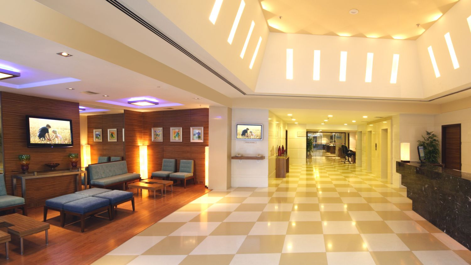 Lobby1 at Aditya Hometel Hyderabad, hotels in hyderabad