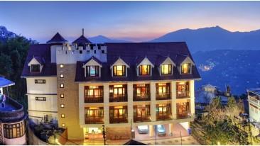 fACADE at Summit Golden Crescent Resort Spa Gangtok 4