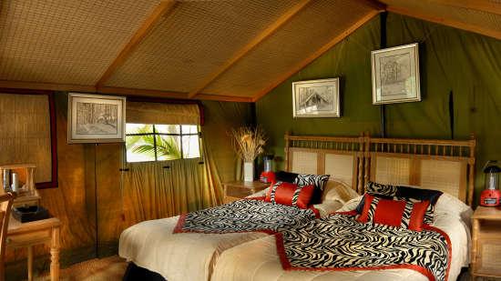 The Hideaway River Lodge - Corbett Resort Corbett swiss tents The Hideaway River Lodge Resort Corbett