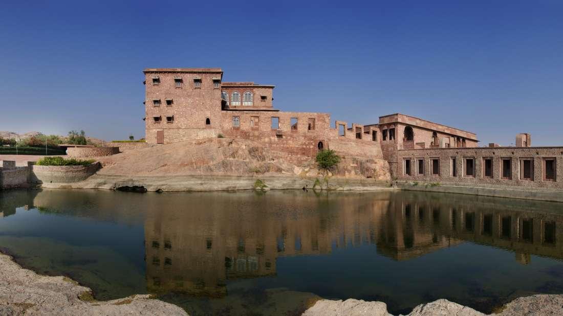 Facade-Bijolai Palace Hotel Jodhpur-Hotel near Kaylana Lake5
