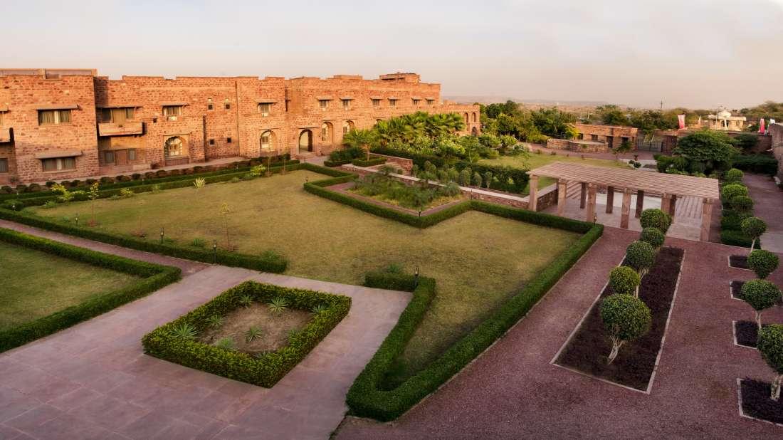Facade-Bijolai Palace Hotel Jodhpur-Hotel near Kaylana Lake2