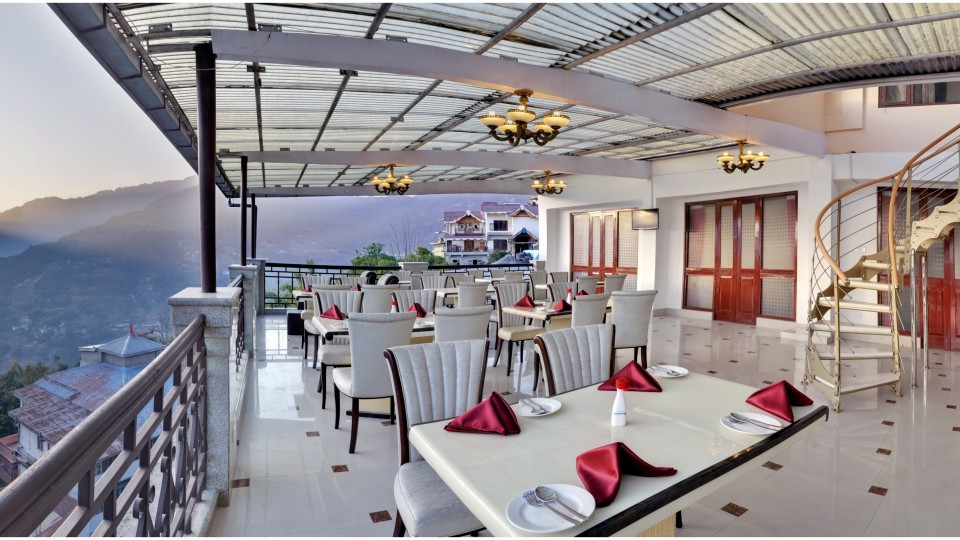 rOOF TOP at Summit Golden Crescent Resort Spa Gangtok 2