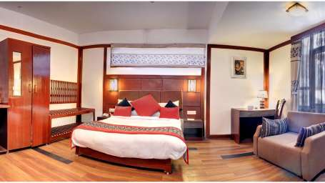 SUITE ROOm at Summit Golden Crescent Resort Spa Gangtok 1