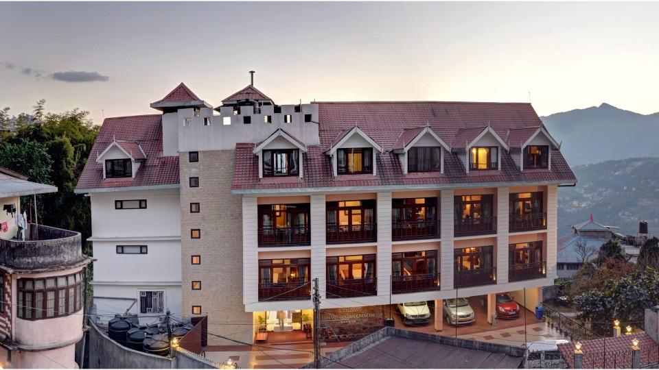fACADE at Summit Golden Crescent Resort Spa Gangtok 3