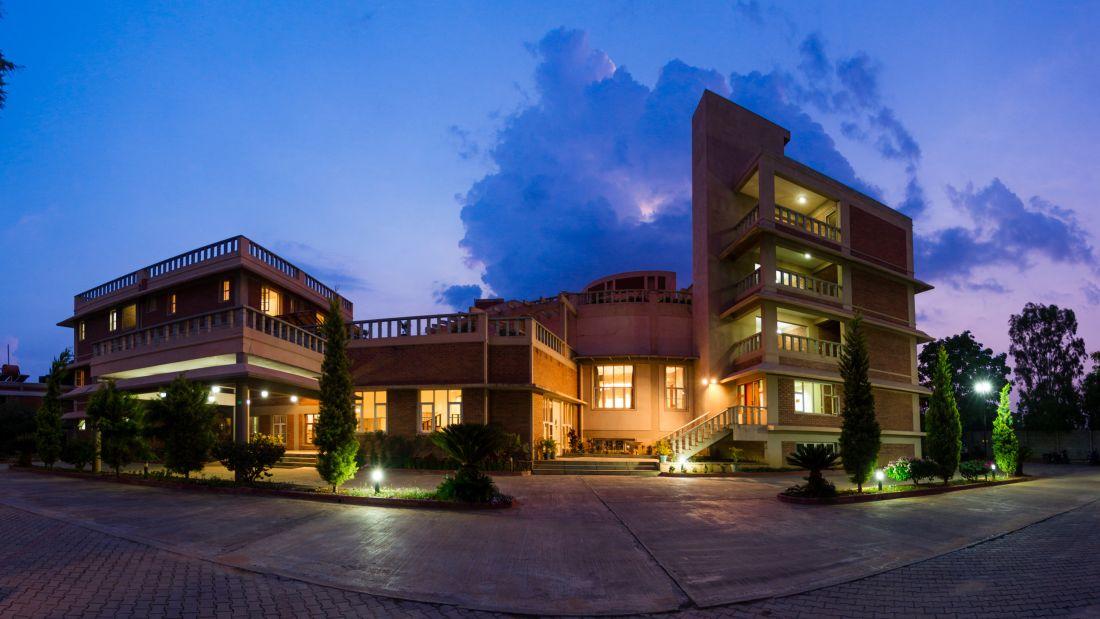 Saiacs CEO center  Hotel SAIACS CEO Centre Bangalore - Ceo centre front view