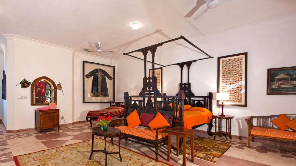 Neemrana Fort Palace Neemrana Donna Mahal Hotel Neemrana Fort Palace Neemrana Rajasthan 2