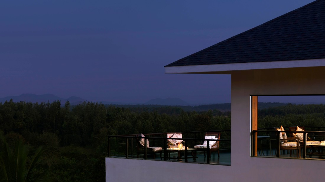 Blue Sky Bar, The Serai Chikmagalur, Luxury Resort in Chikmagalur 2