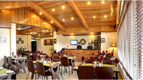 Tsomgo Restaurant at Summit Norling Resort 1