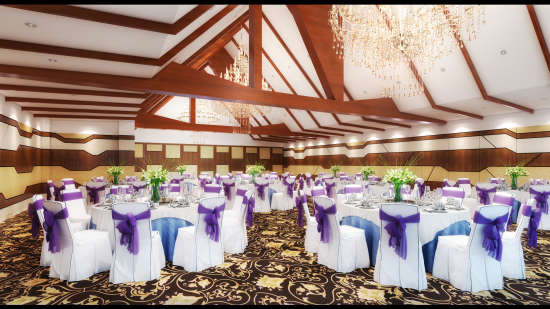 Banquet Hall Sobit Sarovar Portico Goa