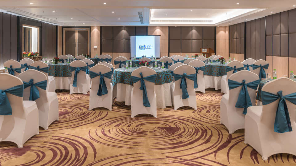 Banquet Hall  Park Inn, Gurgaon - A Carlson Brand Managed by Sarovar Hotels, best hotels in gurgaon 4