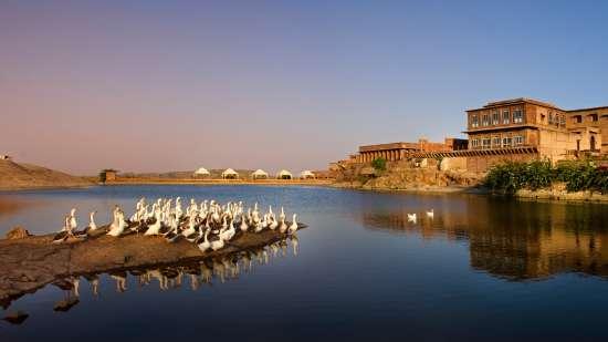 Facade-Bijolai Palace Hotel Jodhpur-Hotel near Kaylana Lake6