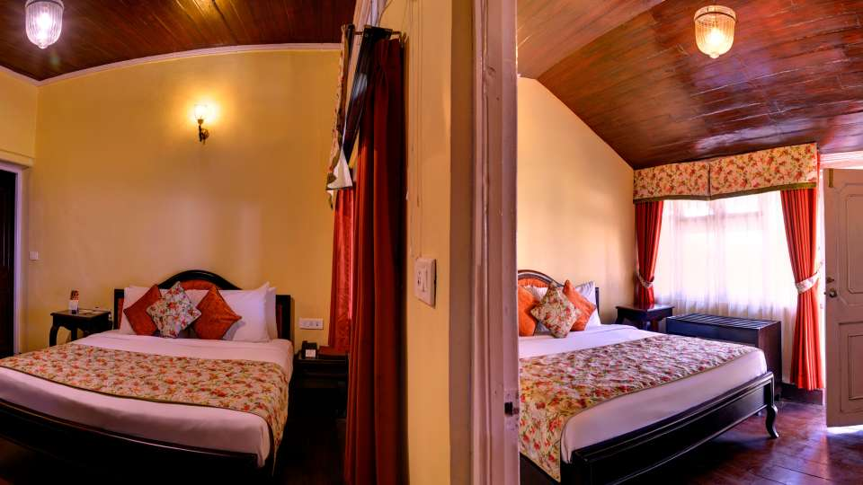 Cottage Room Summit Swiss Heritage Hotel Darjeeling