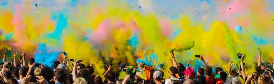 Holi Celebration at RS Sarovar Portico Palampur