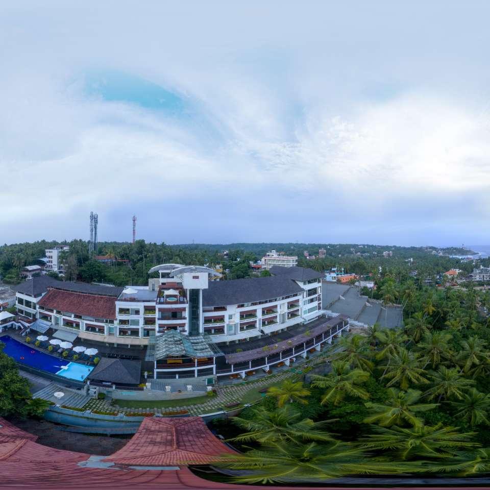 Aerial Beach Side