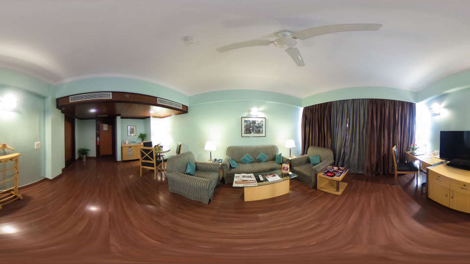 360 degree view2, The Piccadily Luxury Hotel in Lucknow
