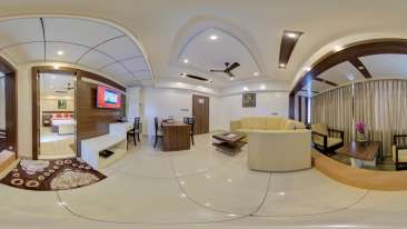 Suite Living Area at The Renai Cochin