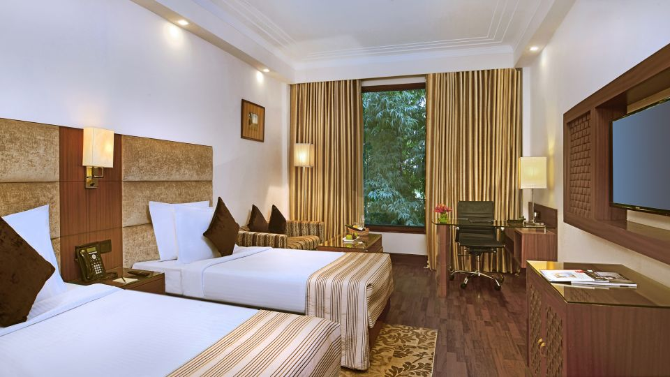 2 Rooms at The Bristol Hotel, Gurgaon, 5-star hotel in Gurgaon